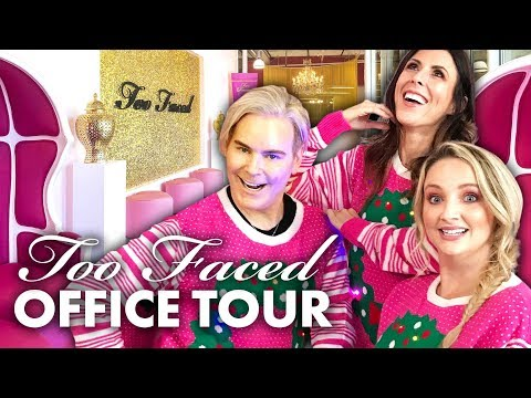We Got Makeovers At The TOO FACED Headquarters!! (Beauty Trippin)
