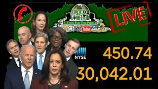🔴 (What Could Go Wrong?) Dow Jones Surpass 30k On The Day of The Biden Gang Announcement 📞