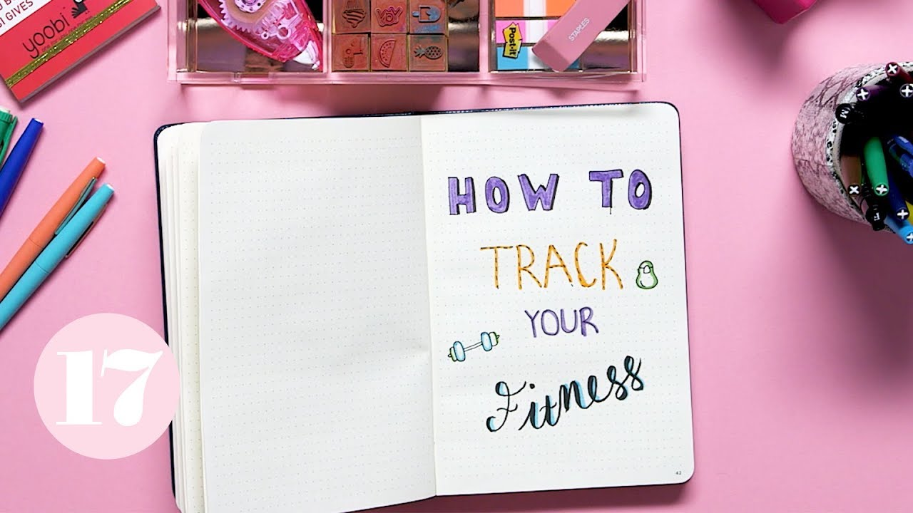 How To Track Your Fitness in Your Bullet Journal | Plan With Me image