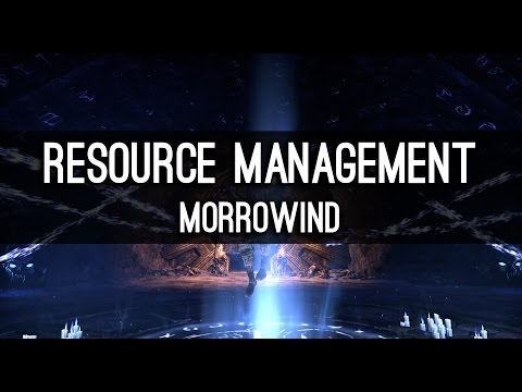 Resource Management in Morrowind - How can I sustain?