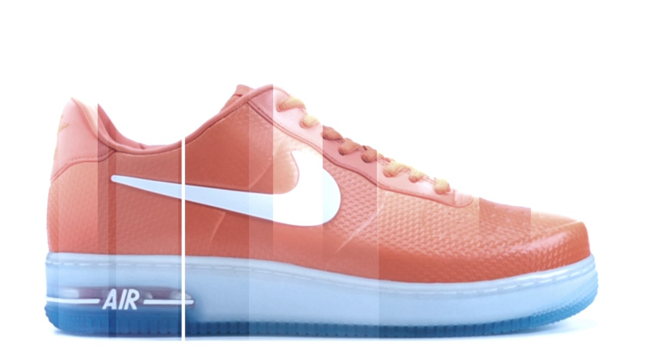 26f88fe050a Nike Air Force 1 Foamposite Pro Low QS Safety Orange White - YouTube