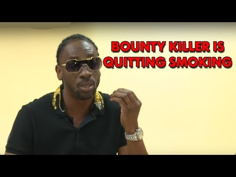 Bounty Killer Quits Smoking