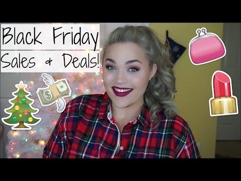 Black Friday 2015 | BEST Beauty & Fashion Sales!