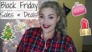 Black Friday 2015 | BEST Beauty & Fashion Sales!