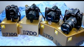 Angry Photographer: Part2 - TOP 4 Best-Value NIKON DSLR categories in 5 cameras & why