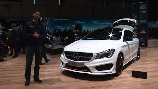 Mercedes CLA Shooting Brake,