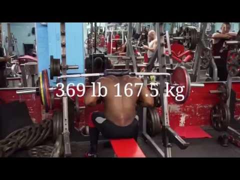 661 Lb x 7 (300 Kg) Raw Squat PR + Seated...