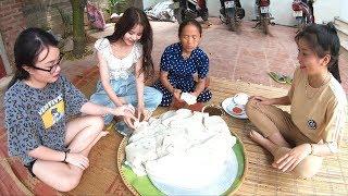 Bà Tân Vlog - Làm Đĩa Bánh Đúc Khổng Lồ Siêu To Sẽ NTN