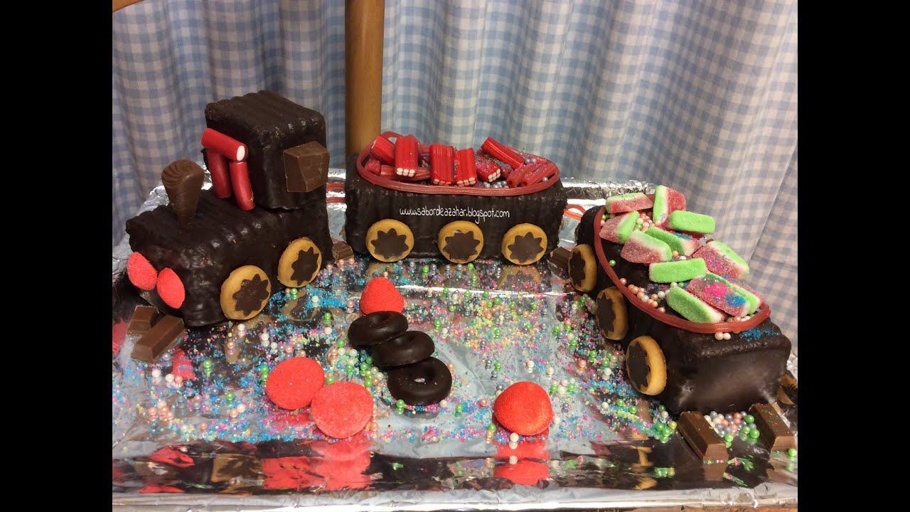 tutorial tarta tren la mas rpidabuena y fcil del en paso a paso youtube