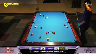 HOTSEAT! John SCHMIDT vs Amar KANG / 'POV6' One Pocket Tournament!
