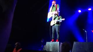 Ed Sheeran Give me love Torwar Warszawa Poland front row HD 13 02 15