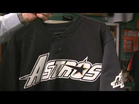 Jeff Bagwell 1994 Houston Astros Worn Batting Practice Jersey