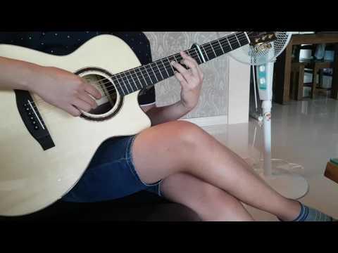 Lakewood guitar m32c sound sample