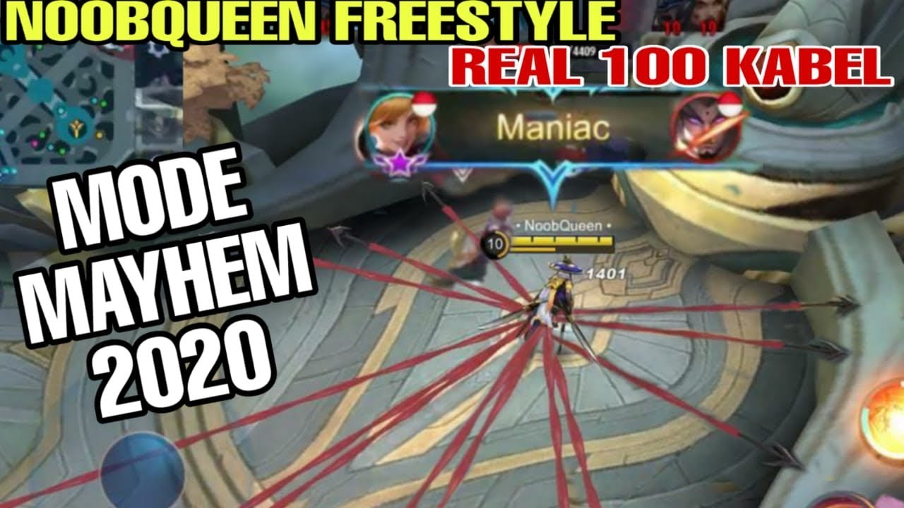 Real Freestyle Fanny NoobQueen Terbaru 2020 - Mode Mayhem