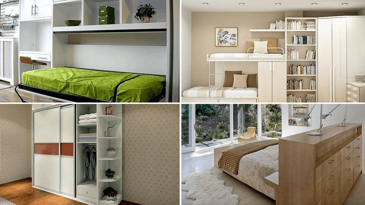 10 DIY Cabinet Ideas for Small Bedroom - YouTube