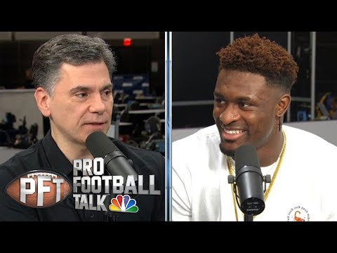 D.K. Metcalf On Rookie Season, Playing In Seattle | Pro Football Talk | NBC Sports