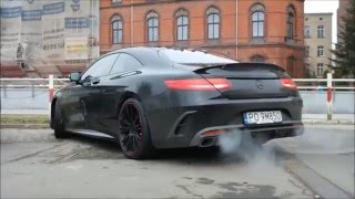 brabus 850 6 0 biturbo coupe start up and acceleration in wrocław