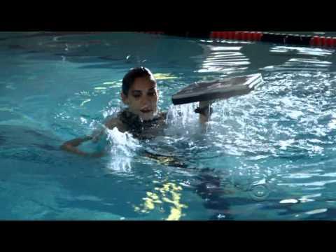 Daniela Ruah Goes Swimming On NICS LA