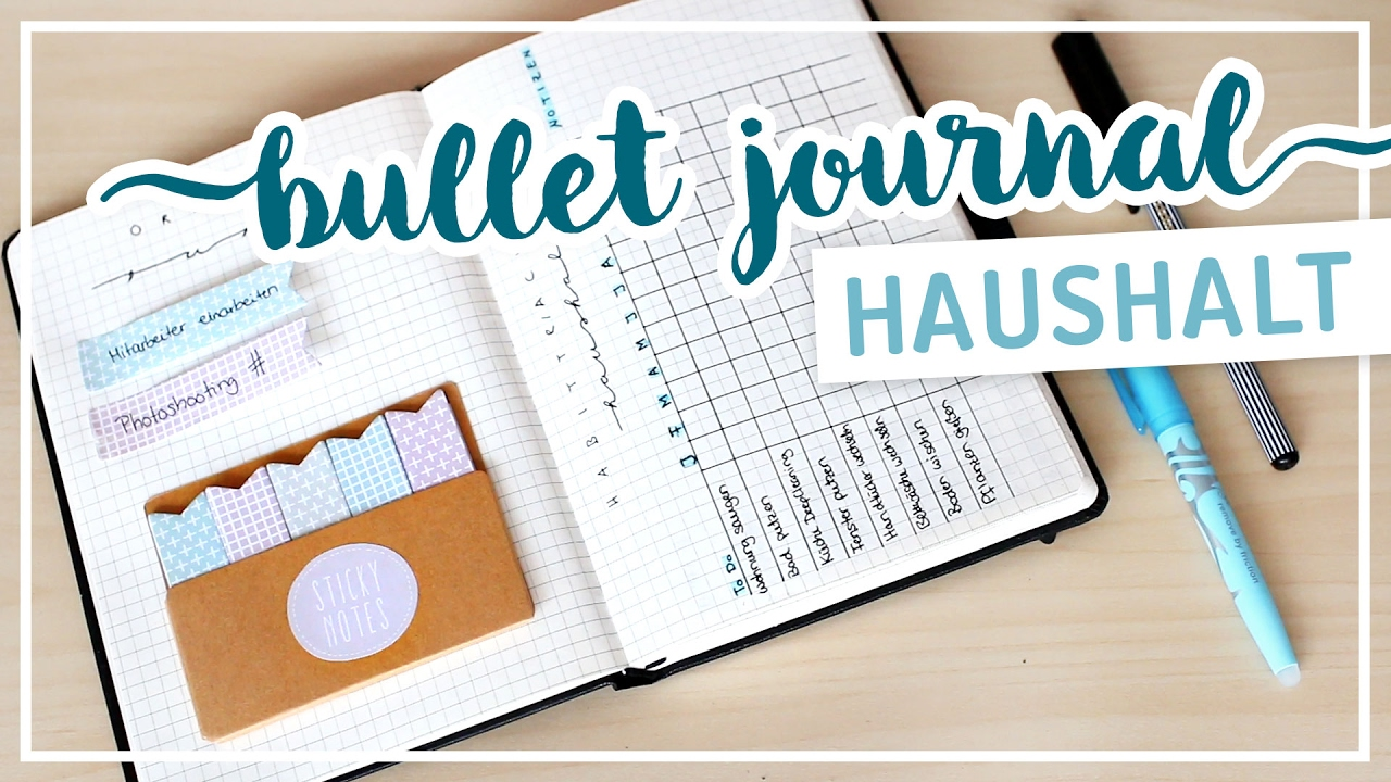 bullet journal haushalt tracking neue todo liste typischsissi youtube. Black Bedroom Furniture Sets. Home Design Ideas