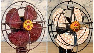 Vintage Table Fan - Restoration