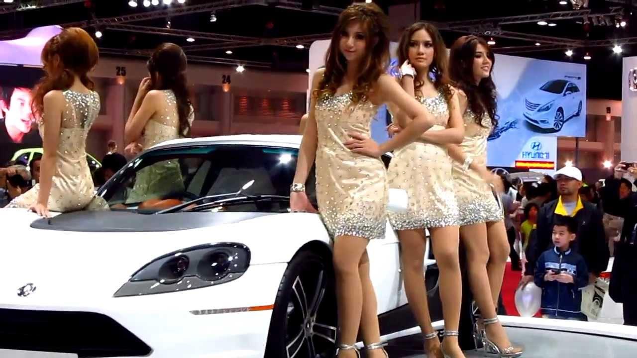Free Wallpapers Cars And Beautiful Ladies Part 2 Sexy Beautiful Thai Car Girls In Hd Bangkok