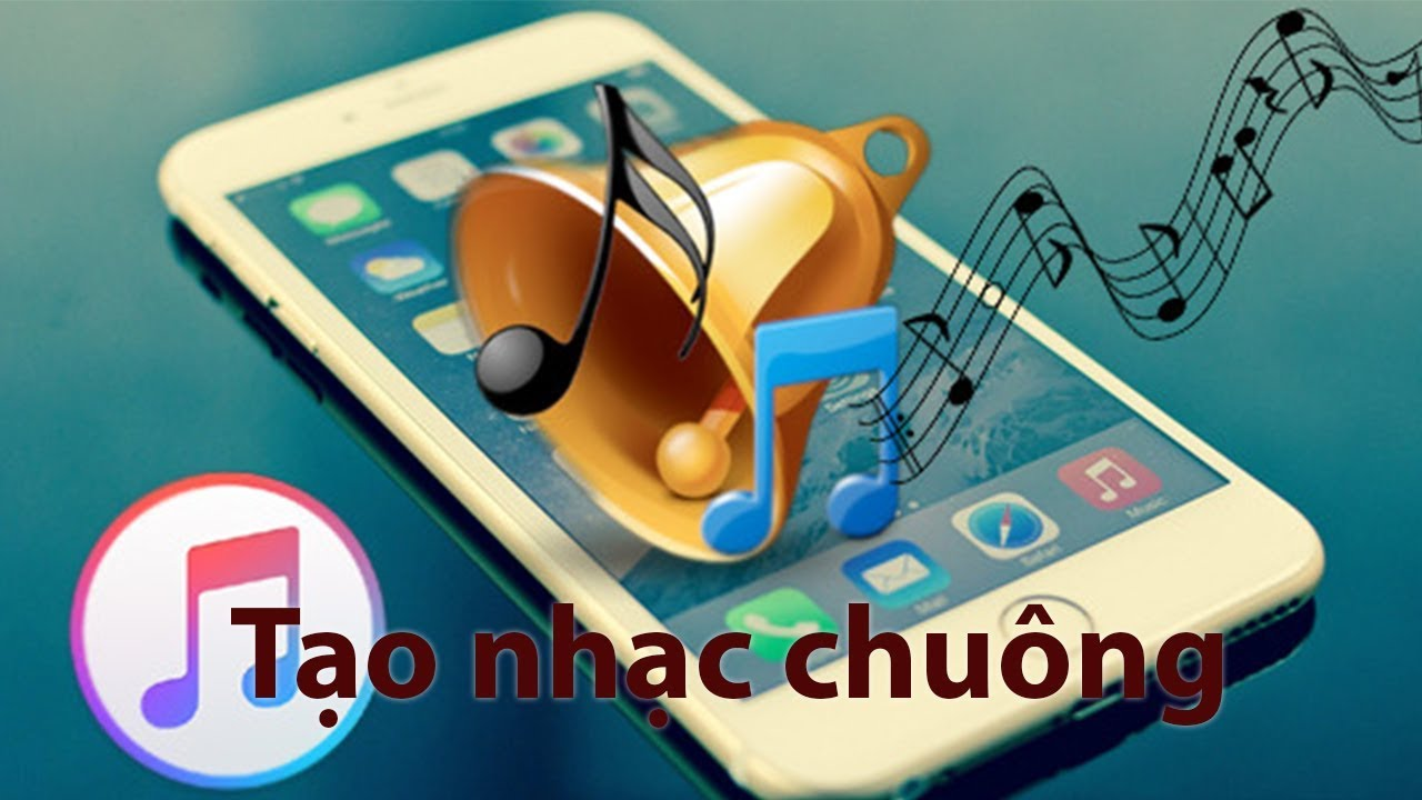 Tạo nhạc chuông cực dễ cho iPhone 2018 - Create funny ringtone for iPhone -  easier than ever now! - YouTube