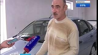 Получившим инвалидность на производстве вручили автомобили в Иркутске ,