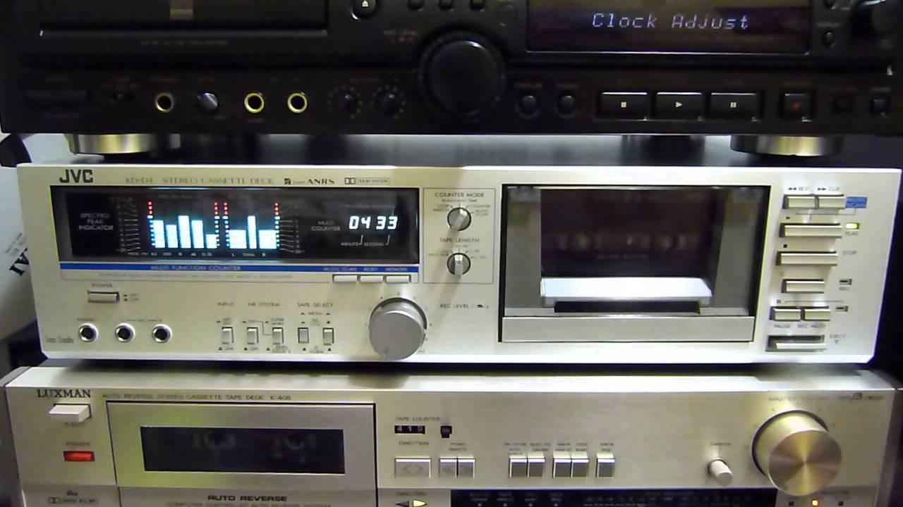 Tape Deck Jvc Kd D4 Made Japan