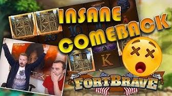 INSANE comeback in Fort Brave x-(