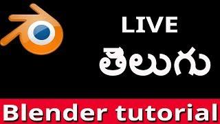 1omegaknight Live Stream: blender tutorial