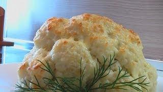 Цветная капуста под молочным соусом видео рецепт. Книга о вкусной и здоровой пище