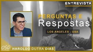 ENTREVISTA - Perguntas e Respostas - Los Angeles - USA