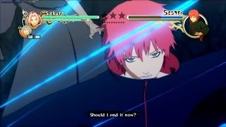 Naruto Shippuden: Ultimate Ninja Storm 2 [HD] - Sakura Vs Sasori (Boss Battle)