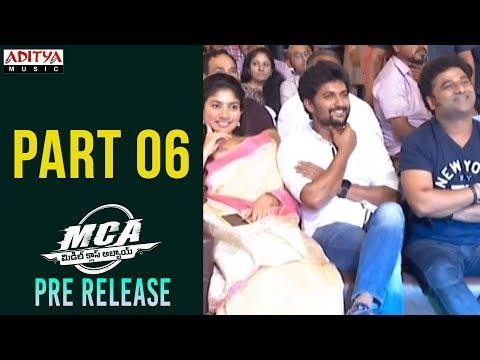 MCA Pre Release Event Part 6 || Nani, Sai Pallavi || DSP || Dil Raju || Sriram Venu