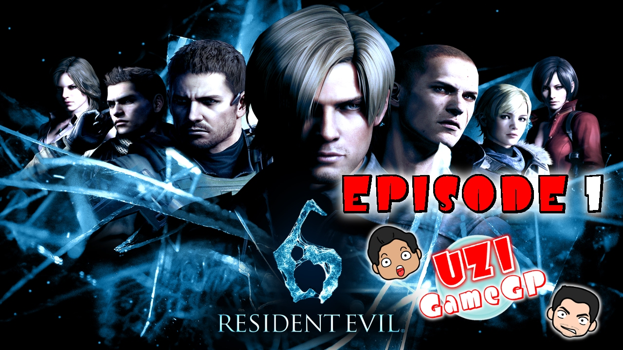RESIDENT EVIL 6 (PS4)  - Leon Chapter 1 - Let's Play with Uzi and Meo