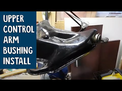 How to Install a Front Upper Control Arm Bushing   G Body