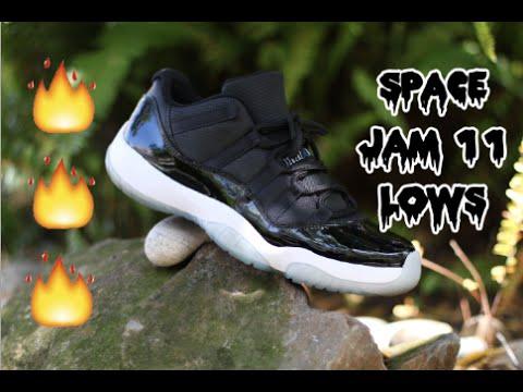 Air Jordan Space Jam 11 Low Custom Time-Lapse!