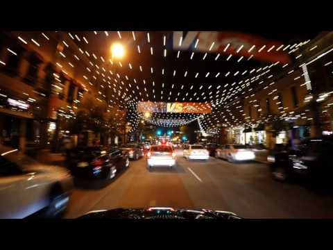 Downtown Denver Colorado Night Timelapse / Nightlapse - 4k UHD GoPro Hero 4 Black