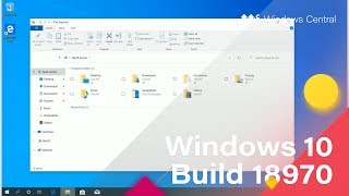 Windows 10 Build 18970 - Tablet Improvements, Cloud Download, + MORE