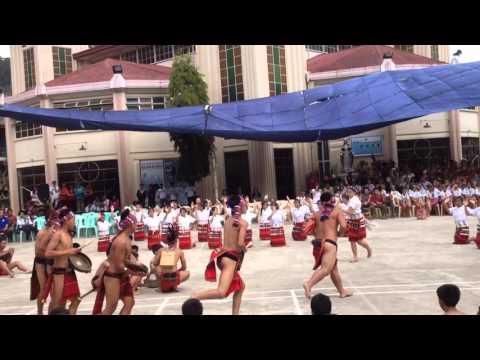Igorot dance- SLT convention 2016 @ Saint Vincent school bontoc, mt. Province.