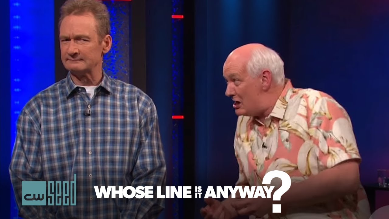 Whose line is it anyway dating game ideas