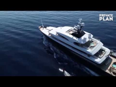 ICON YACHT Charter with PRIVATE PLAN