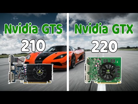 Nvidia GT 210 VS Nvidia GT 220 GTA V Graphics Comparison