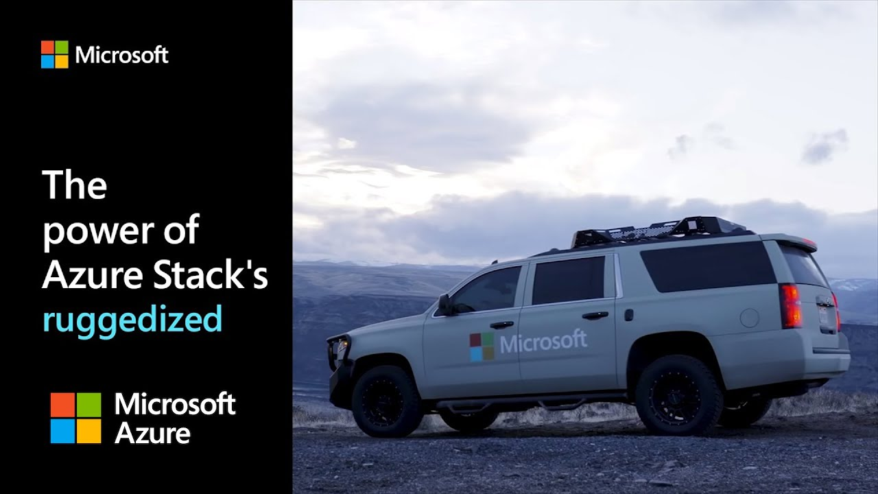 The power of Azure Stack's ruggedized system