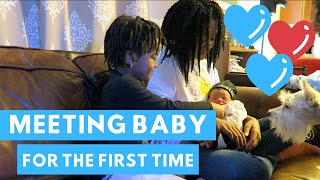 Bringing Baby Home | Meeting Baby For The First Time