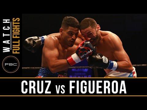 FULL FIGHT: Miguel Cruz vs Sammy Figueroa - May 8, 2016 - PBC on Bounce