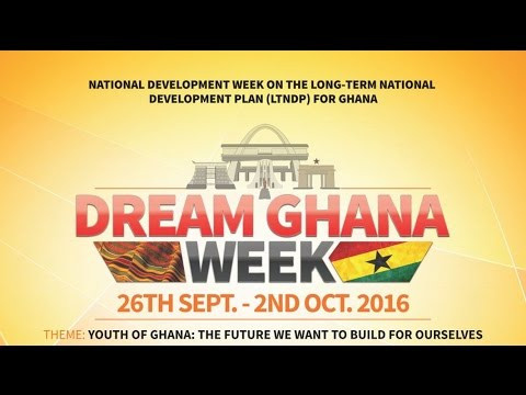 LIVE STREAM of Launch of Youth of Ghana-The Future we want to build for ourselves