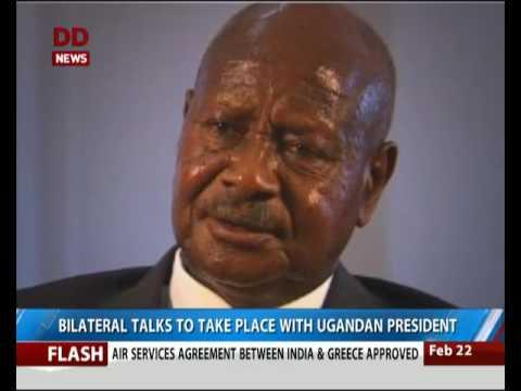Vice President Hamid Ansari reaches Uganda; to hold bilateral talks with Uganda President