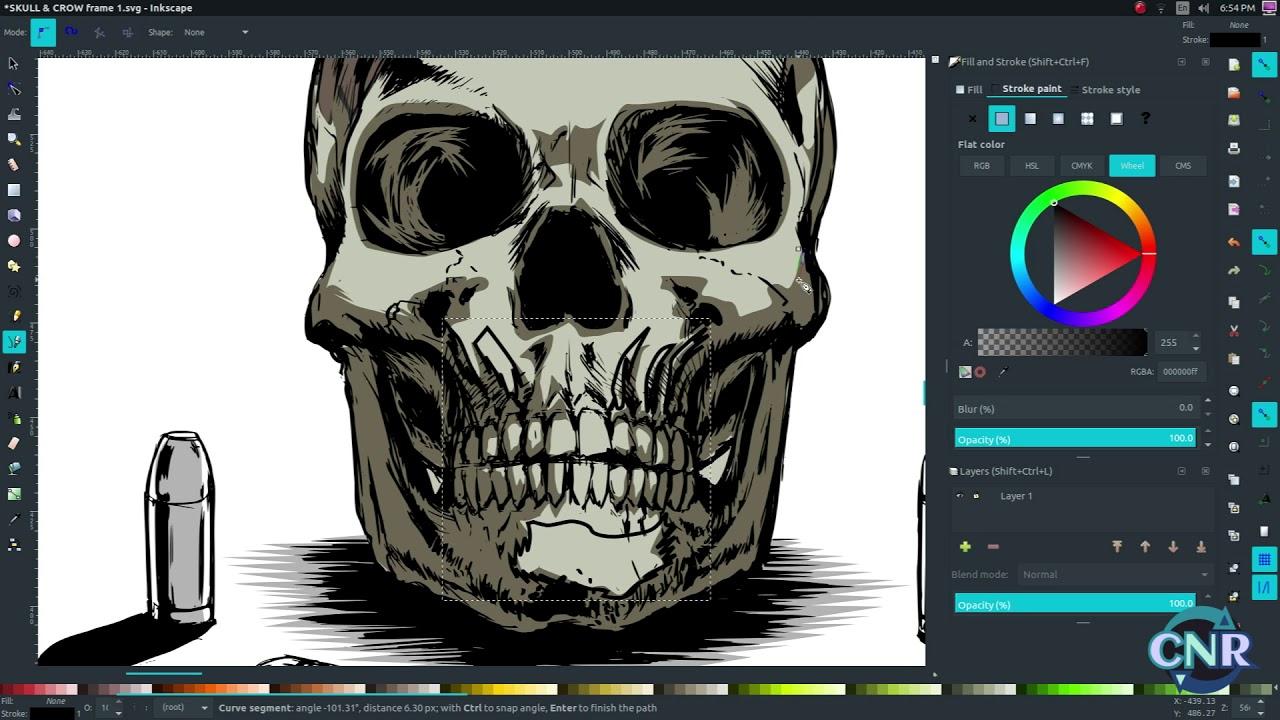 Inkscape Book Cover Tutorial : Krita comic book illustration tutorial featuring inkscape