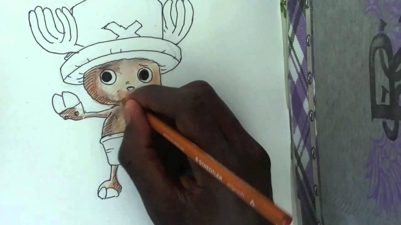 Comment Dessiner Tony Tony Chopper De One Piece Youtube